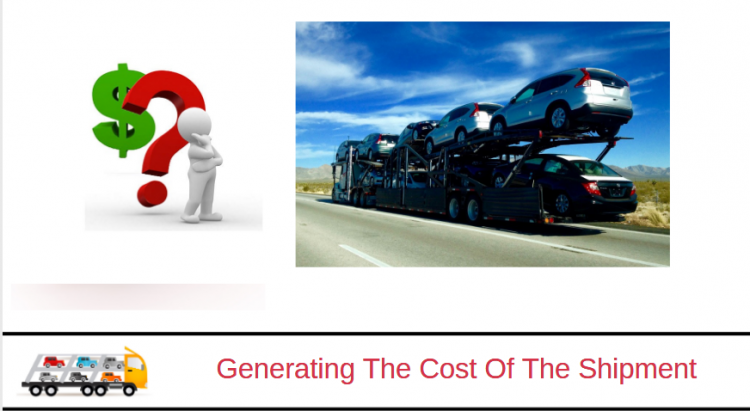 Generating The Cost Of The Shipment