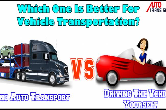 Advantages Of Using Auto Transport Vs. Driving The Vehicle Yourself