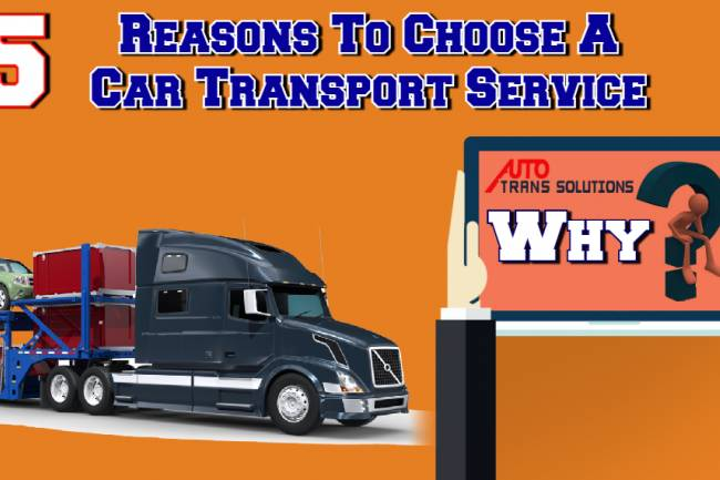Five Reasons Why You Should Choose A Car Transport Service Over Driving It Yourself